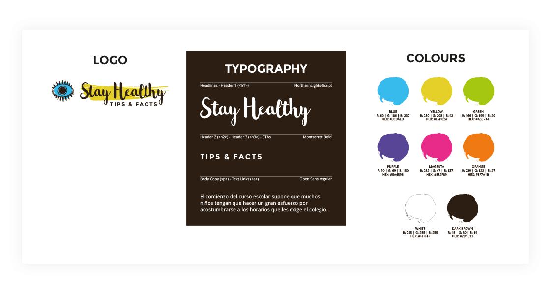 StayHealthy Diseño de Identidad de Marca
