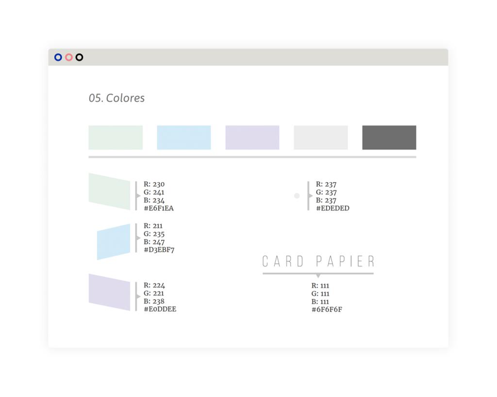 Branding. Diseño de identidad visual, colores de marca