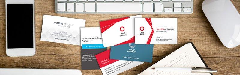 Diseño de producto. Tarjetas de visita