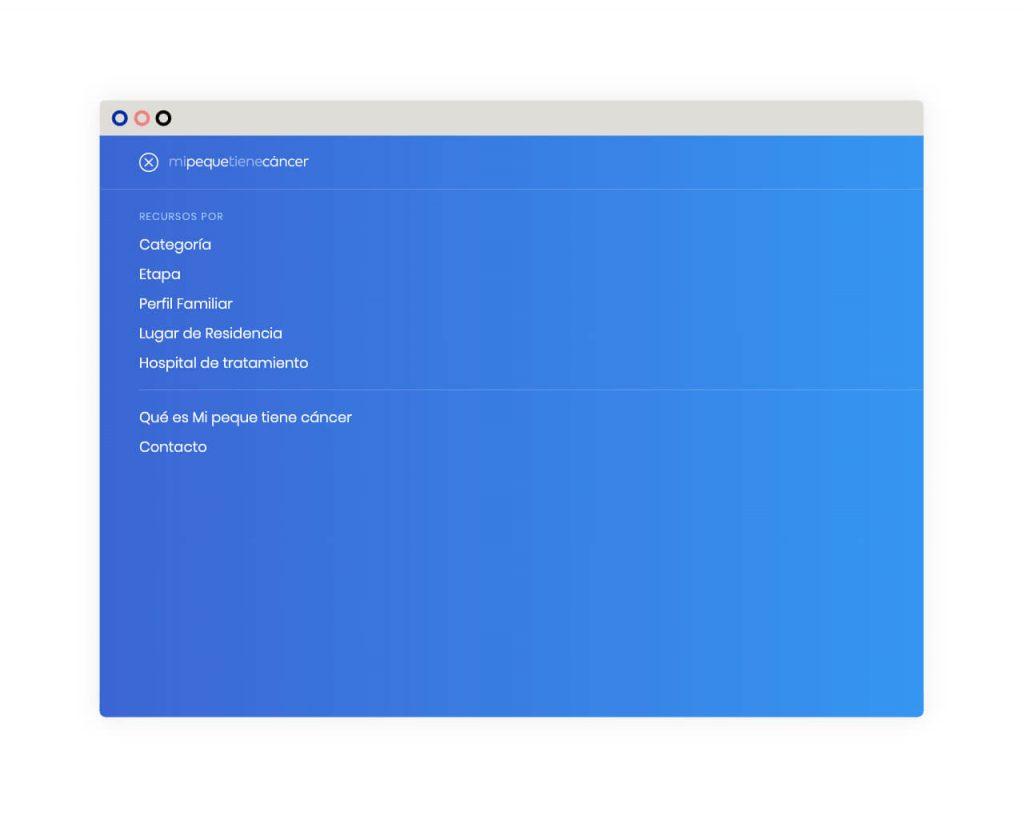 Desarrollo web, buscador de recursos